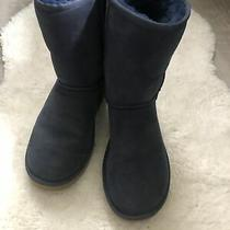 Genuine Ugg Shearling Boots Blue Size 8 Beautiful Condition Photo