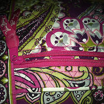 Genuine Vera Bradley Floral Spring Pink Hipster Bag...rare and Unique Photo