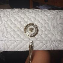 Genuine White Versace Handbag Photo