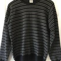 George Armani Mens Wool Blend Sweater (S) Made in Italy Very Warm & Soft Photo