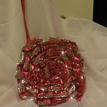 Georgeous  Betsey Johnson Crossbody in Fushia Satin Photo