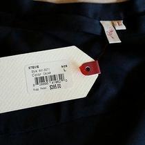 Georgeous Nwt 395 Joie   100% Silk Black Wraptiered Tie Waist Skirt Size L Photo