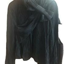 Georgio Armani Black Jacket / Top Size 40 Photo
