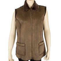 Gerard Darel Brown Acrylic Vest Size 42 Photo