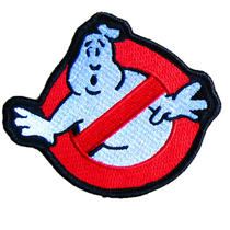 Ghostbusters Patch - Movie Fancy Dress Costume. Easy Iron On. Photo