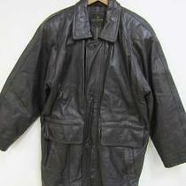 Gianni Valentino Leather Coat Brn Sheepskin Men's Outer R1417 Photo
