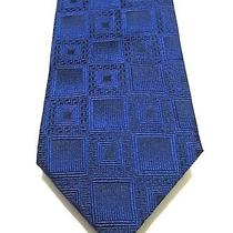 Gianni Versace Couture Rich Blue Luxury Tie 100% Silk Rare  Photo
