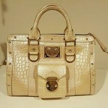 Gianni Versace Gold Croc Print Handbag-Sold Out Retail 3k Collectors Nwt Photo