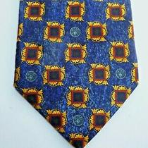 Gianni Versace Men's Tie 100% Silk Excellent Condition Made in Italy  Photo