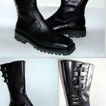 Gianni Versace Mens Biker Boots-Medusa Head Gianni Biker Boots-Never Worn-Mint Photo