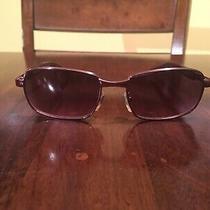 Gianni Versace Mens Womens Vintage 1990 Sunglasses Purple Mod X70 Col 37m Unisex Photo