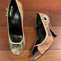 Gianni Versace Multicolor Velvet Pumps Size 36 Photo