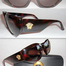 Gianni Versace Rarest Model 420 Sunglasses-Gianni  Vintage 1980s-Near Mint-Super Photo