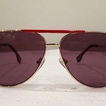 Gianni Versace Red Aviator Sunglasses Photo