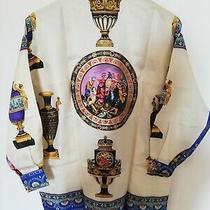Gianni Versace Vintage Rare 100% Silk Shirt Size 42 Photo