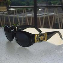Gianni Versace Vintage Sunglasses 424/m Black Medusa Hip Hop Iconic 424 413/a Photo