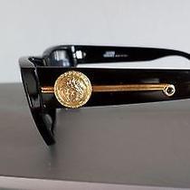 Gianni Versace Vintage Sunglasses Mod 372 Dm Col 852 Bk Medusa 2chainz Tyga Wiz Photo