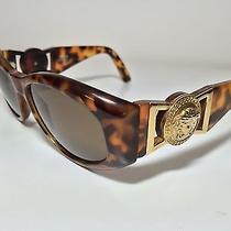 Gianni Versace Vintage Sunglasses Mod 424 Col 280 Notorious Medusa Tyga Photo
