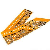 Ginza Store Hermes Twiry Scarf Silk 100 Between the Sky and Sea Yellow System Photo