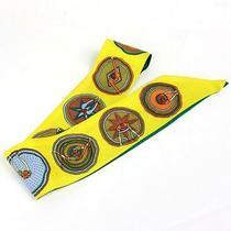Ginza Store Hermes Twiry Scarf Silk 100 Yellow System Photo