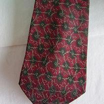 Giorgio Armani 100% Silk Tie Made in Italy Photo