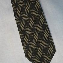 Giorgio Armani Art Deco Tie / Cravatte 23 Blue Photo
