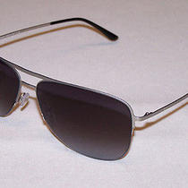Giorgio Armani Authentic Sunglasses Ar6007 Ar 6007 3036/8g Silver Grey New Photo