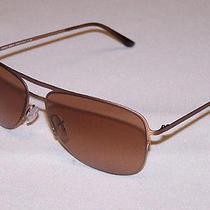 Giorgio Armani Authentic Sunglasses Ar6007 Ar 6007 3039/13 Rose Gold Brown New Photo