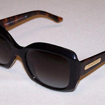 Giorgio Armani Authentic Sunglasses Ar8002 Ar 8002 5017/8g Black Tortoise Grey Photo