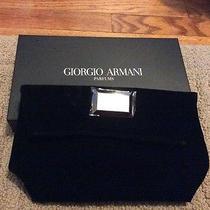 Giorgio Armani Black Clutch  Photo