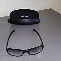 Giorgio Armani Black Frameblack Lens Sunglasses Photo