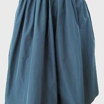 Giorgio Armani Black Taffeta Evening Pleated Skirt Size 36 Us 2 Euc Worn Once Photo