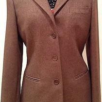Giorgio Armani Classic  Cashmere/silk Jacket - Brown Photo