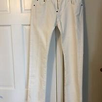Giorgio Armani Classic Five-Pocket Skinny Jeans Size 29 Ivory. Listed for 625 Photo
