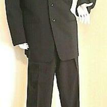 Giorgio Armani Collezioni Classy Rich Looking Men Dress Suit Size 40 Reg Photo