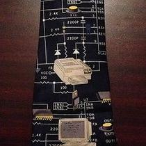 Giorgio Armani Cravatte Computer Neck Tie - Made in Italy - 100% Silk Photo