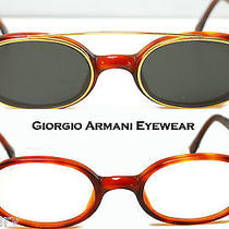 Giorgio Armani Eyeglass Unisex Discontinued Really Rare and Unique Designunworn Photo