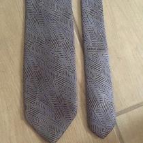 Giorgio Armani Gray 100% Pure Silk Tie Photo