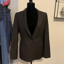 Giorgio Armani Italy Wool Blazer Jacket Brown Size 40 Photo