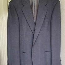 Giorgio Armani Jacket 2 Btn Gray Size 38 Reg Photo