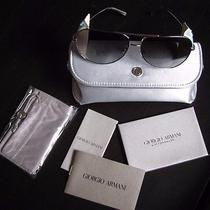 Giorgio Armani Ladies Kaleidoscope Sunglasses W/ Certificate and Storage Case Photo