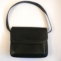 Giorgio Armani Le Collezioni Black Leather Purse Shoulder Bag Italy Classic  Photo