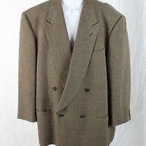 Giorgio Armani Le Collezioni Men's Brown Olive Gray Jacket Blazer Size 44 Photo