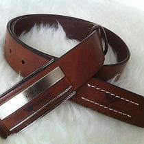 Giorgio Armani Man Leather Belt Photo