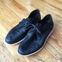 Giorgio Armani Mens Black Moccasin Sneakers Size 11 Us 10 Uk Extralight Photo