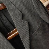 Giorgio Armani Men's Blazer Jacket in Gray Made in Italy 40 Photo