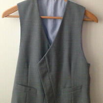 Giorgio Armani Mens Grey Vest Sz Xs-S  Photo