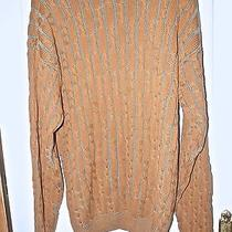 Giorgio Armani   Men's Sweater   100% Cotton Size L  Gently Worn Photo