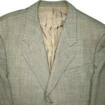 Giorgio Armani Mens 42.5 R Beige Brown Sport Coat Suit Jacket Blazer Business Photo