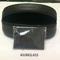 Giorgio Armani  Oversize  Sunglass Case Black Cloth Photo